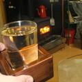Photos: ホットウイスキーとストーブ