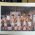 諏訪の少年力士たち