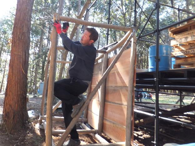 薪小屋DIY中