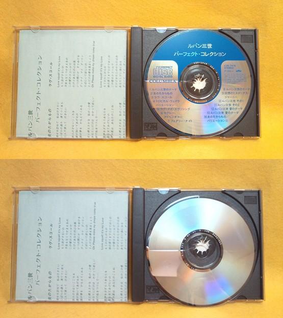 ルパン三世 パーフェクト・コレクション 主題歌 挿入歌 サントラ CD部分