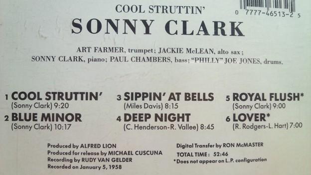 クール・ストラッティン ソニー・クラーク ジャズ ピアノ CD 名盤