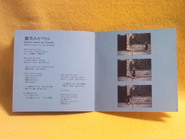 NANNO-Singles- CD アイドル 写真の部分 歌詞カード
