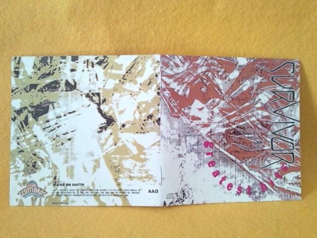 Photos: SURVIVOR'S GREATEST HITS CD バーニングハート
