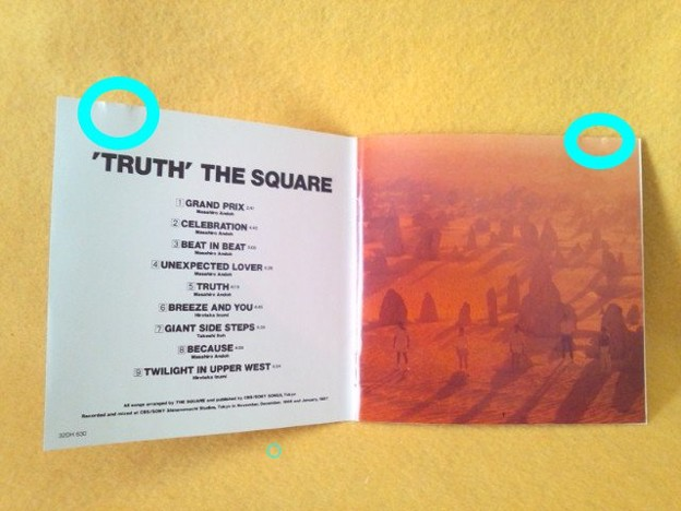 THE SQUARE TRUTH CD グランプリ 32DH 630