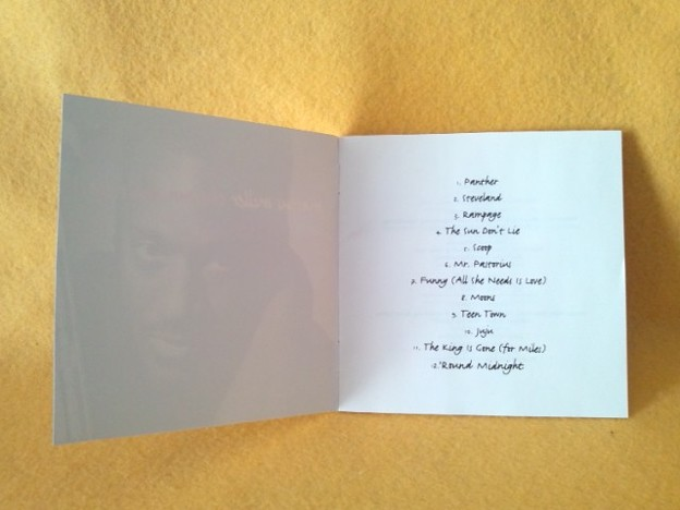 The Sun Don't Lie MARCUS MILLER CD