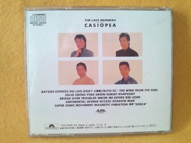 カシオペア ザ ラスト メンバーズ CD
