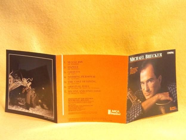 マイケル・ブレッカー Michael Brecker CD テナーサックス