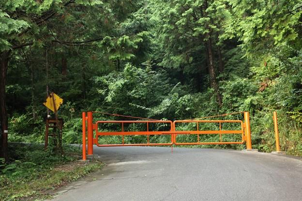 富幕山扇山林道ゲート