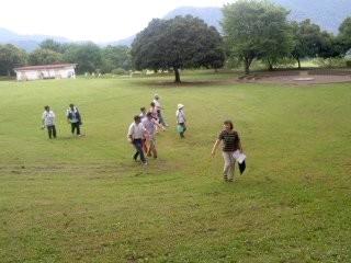 村内散策(7月13日、愛川ふれあいの村)