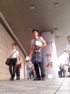 写真: 地元大船・角田晶生(7月24日)