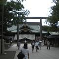 靖国神社・境内(9月4日)