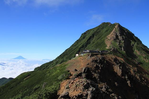 八ヶ岳と富士山 ?