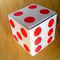 写真: たらちゃんルービックキューブにサイコロキャラメルで挑む その2