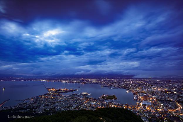 The night of Hakodate