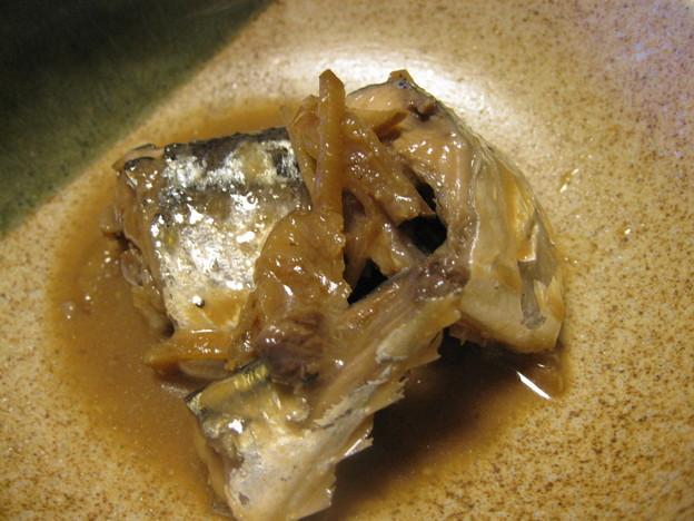 写真: 秋刀魚の味噌煮