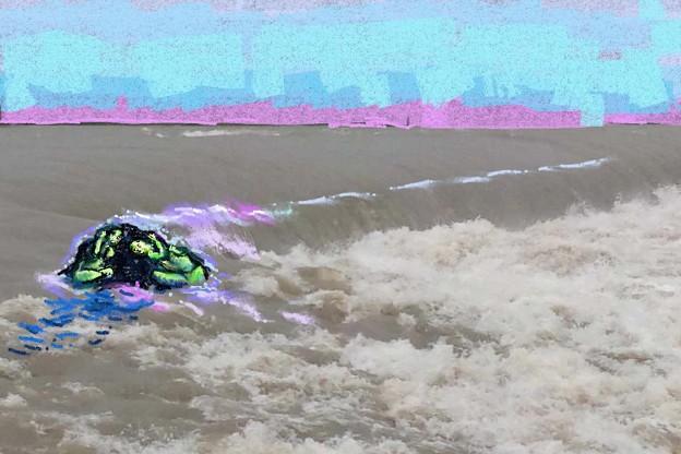 写真: 洪水