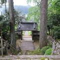 福田寺(設楽町)山門