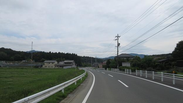 長篠設楽原合戦場(新城市)名高田前激戦地より