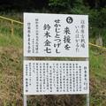 Photos: 長篠設楽原合戦場(新城市)鈴木金七生誕地