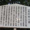 写真: 一色城/大聖寺(豊川市)一色刑部少輔時家墓