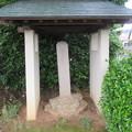 西明寺(豊川市)芭蕉句碑