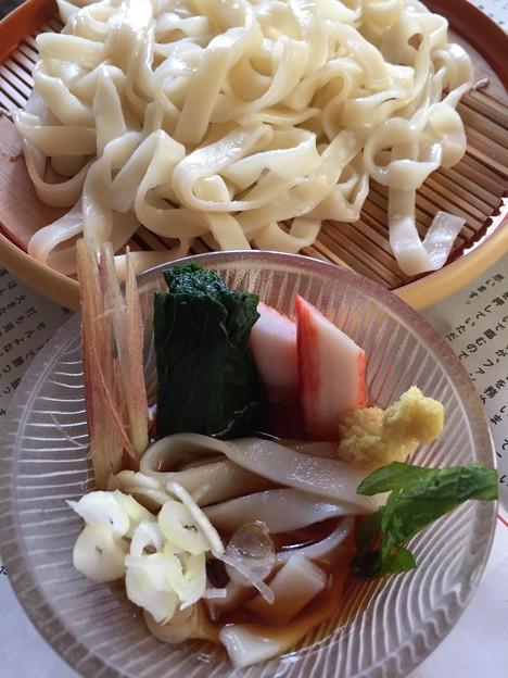 Photos: ざるきしめん(= ̄ ρ ̄=)