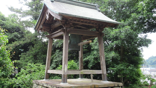 清瀧寺(浜松市天竜区)鐘楼