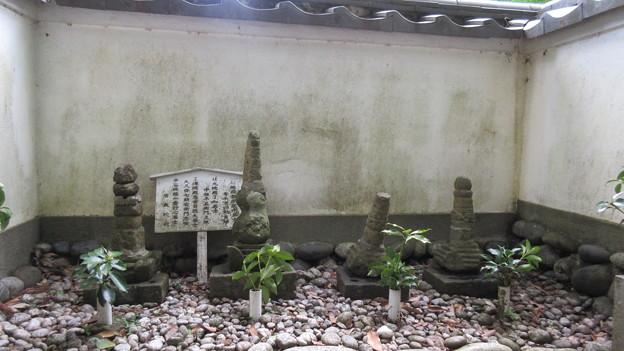 清瀧寺(浜松市天竜区)信康廟