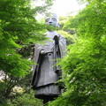 油山寺(袋井市)茶祖 栄西禅師像