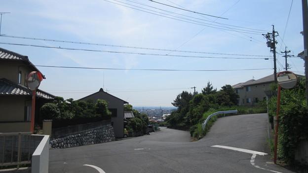 欠下坂(浜松市)頂上より東