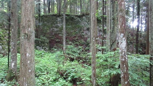 巌邑城(恵那市岩村町)三重櫓石垣