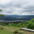 松倉城(高山市)本丸より東