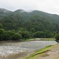 Photos: 白川郷(岐阜県白川村)であい橋・庄川