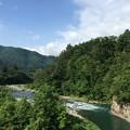 Photos: 白川郷の湯(白川村荻町)庄川07:56