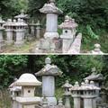 Photos: 本立寺(伊豆の国市)源英敏・源英武墓碑