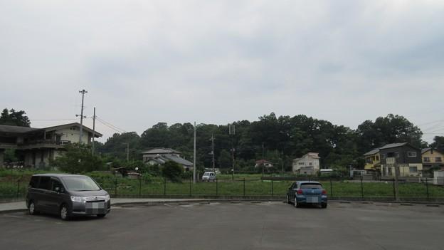 韮山城(伊豆の国市)東北より
