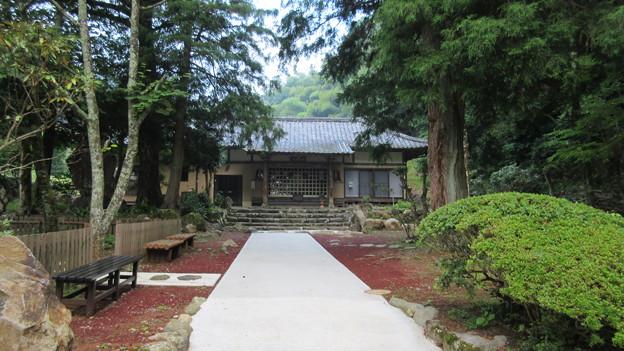 修禅寺奥の院(正覚院。伊豆市)奥院