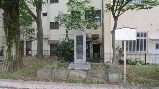 Photos: 三枚橋城(沼津市)本丸址碑