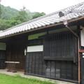 写真: 山本勘助誕生地(富士宮市)生家長屋門