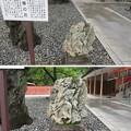 Photos: 富士山本宮浅間大社(富士宮市)南極の石