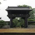 西山本門寺(富士宮市)黒門