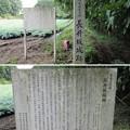 Photos: 長井坂城(渋川市・昭和村)二の丸