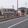綾瀬川一ノ橋(越谷市)近藤勇休憩地