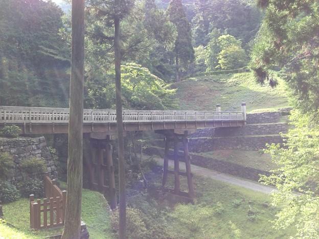 八王子城 北条氏照居館(東京都)曳橋