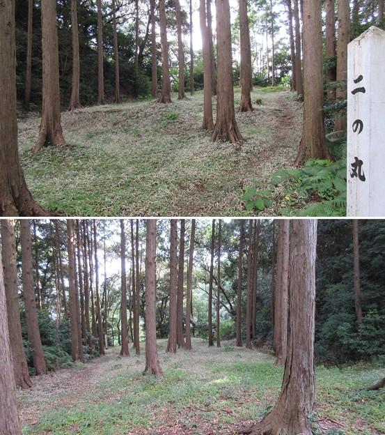 高天神城(掛川市)二の丸