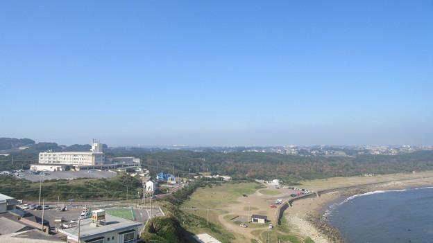 犬吠埼灯台(銚子市)西