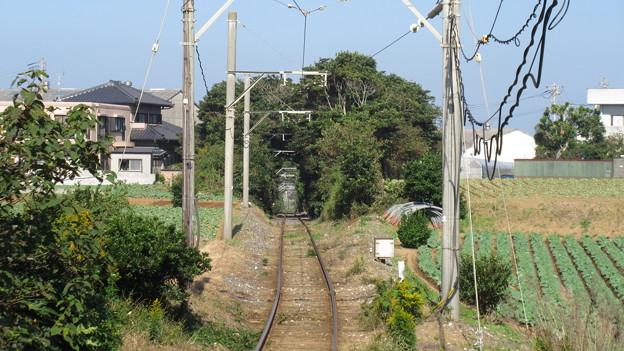 銚子電鉄(銚子市)犬吠駅より
