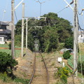 Photos: 銚子電鉄(銚子市)犬吠駅より