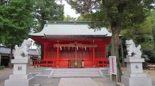 小野神社(多摩市)拝殿