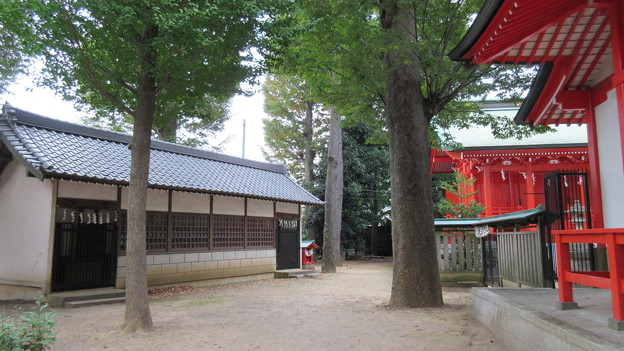 小野神社(多摩市)末社殿